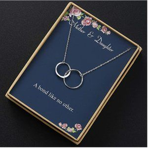 Jewelry - Mother Daughter Interlocking Necklace